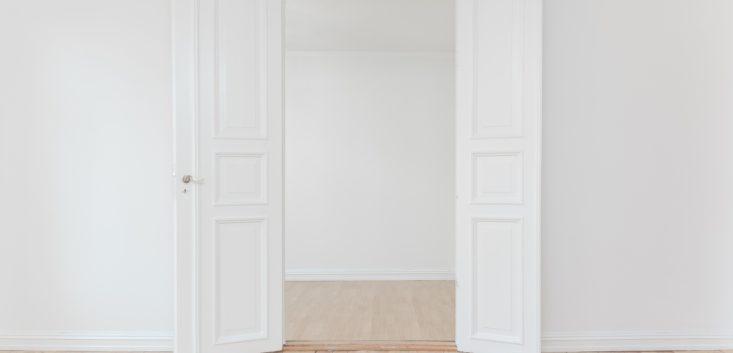 心の扉を開ける